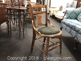 Vintage Round Bottom Side (A) Chair