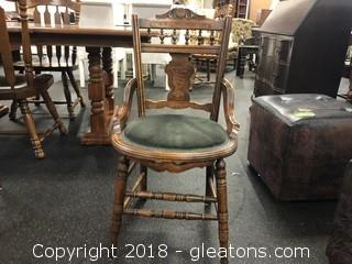Vintage Round Botom Side (C) Chair
