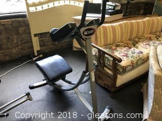 """Exercise Machine """"Ab Coaster"""""""