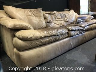 Leather Sofa 3 Seats