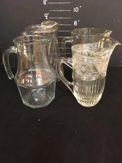 Crystal Pitchers