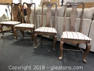 Ethan Allen Dining Chairs (4)