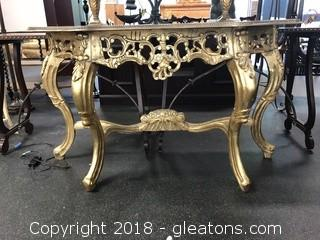 Hand Carved Venitian Foyer Table