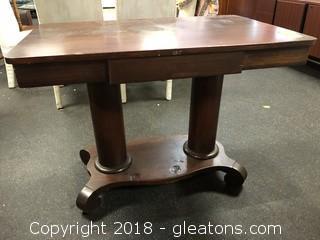 "Foyer Table W/Drawer-Beautiful 40 X 25"""