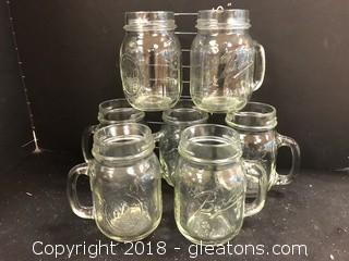 7 Bell Mason Drinking Glasses