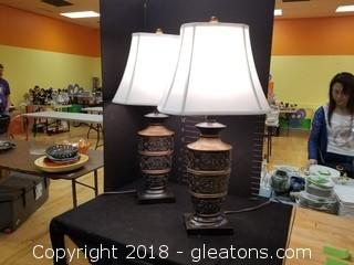 Modern Lamps With Scroll