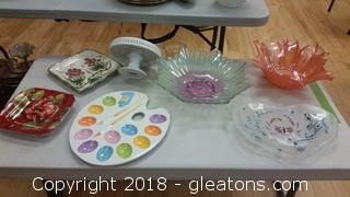 Decorative Platters Lot