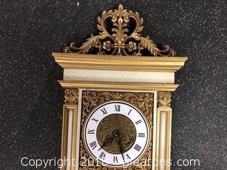 Vintage Syroco Wall Clock 1555