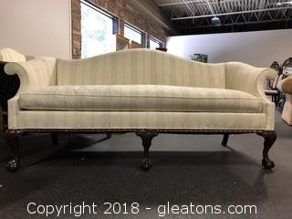Hickory Chair Formal Sofa Excellent Cond