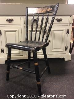Spindle Back Antique Arm Chair (D)