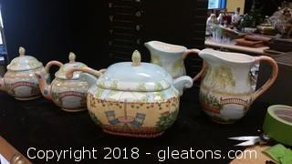 Tea Pots Pitchers Soup Tureen