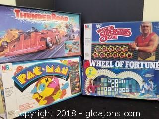 Vintage Games Lot Of 4