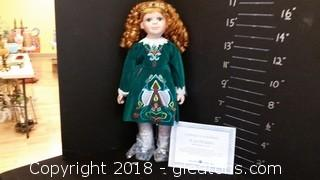 Irish Step Dancer Porcelain Doll Lot