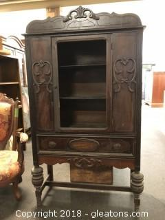 Antique China Cabinet Missing Glass