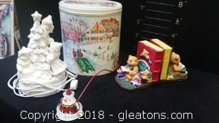 Misc. Christmas Items Lot A