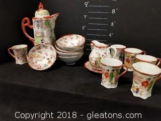 Super Fine And Delicate Tea Set