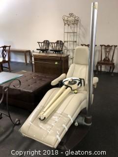 Dental Chair W/ Working Light