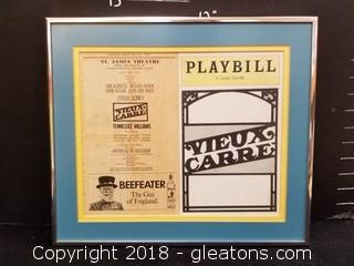 Playbill St. James Theater Picture