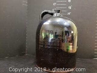 Large, OLD Ceramic Jug Stoneware, BEAUTIFUL GLAZE