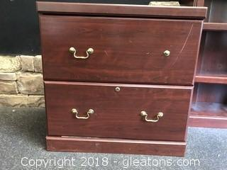 Two Drawer Filing Cabinet Legal Or Letter Size Lockable