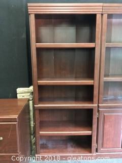 Bookshelf Dark Wood (A)