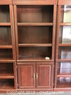 Bookshelf With Cabinet