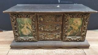 Ornate Jewelry Box-No Mark