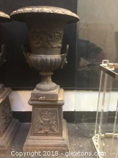 Cast Iron French URN Planter (B)