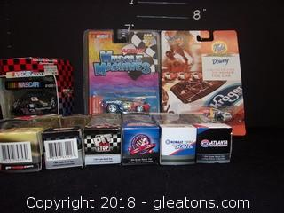 10 Metal Toy Race - Cars (Boxed)