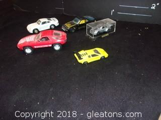 5 Toy Race Cars
