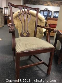 Councill Furniture Chippendale Arm Chair