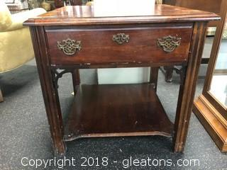American Drew Large, Square Side Table