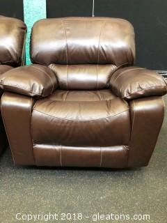 Leather Rocking Recliner (B)