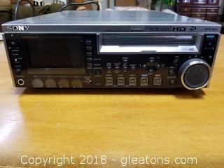 Sony PDW-F70 Professional Disc Recorder XDCAMHD