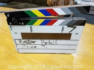 Digital Movie Clapper Board