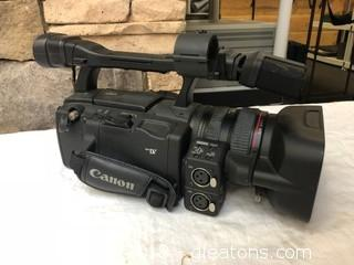 Canon XH A1 Camcorder Without Bag (F)