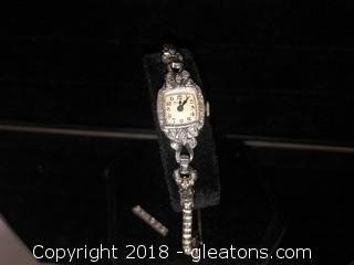 Diamond Bulova Women's Cocktail Watch