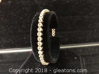 Appraised Ladies Diamond Bracelet 3.00 Carats, $2,100