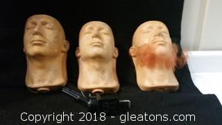 Movie Prop Design Model Heads Stand (3)