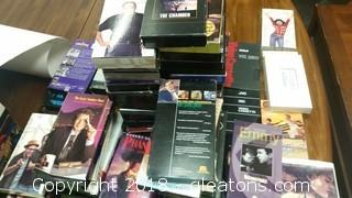"Lot Of VCR Tapes- ""For Your Emmy Consideration"" VCR Tapes N-Z Various Lot"