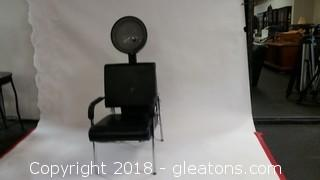 Pibbs CD320 Salon Hair Dryer-Virgo Plus Makeup Chair