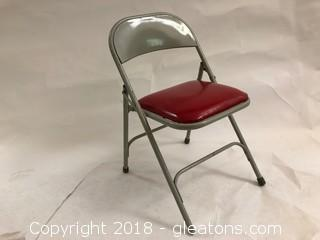 Vintage Schwayder Bros Samsonite Folding Chair (D)