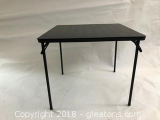 Folding Table Black (A)