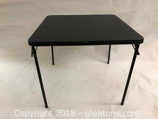 Folding Table Black (B)