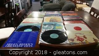 Lot Of 29 Vinyl Records- Super Collectible