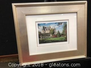 William Mongum Noble View Framed Print