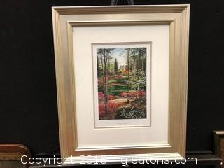 William Mongum Spring Splendor At Biltmore Estate Framed Print