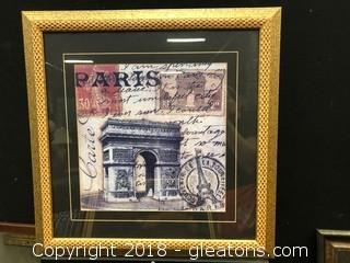 Framed Parisen Wall Decor