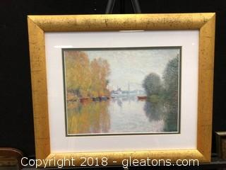 Monet Framed Print