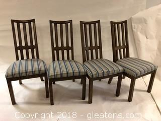 American Of Martinsville Mid Century Dining Chairs, Set Of 4 Like New